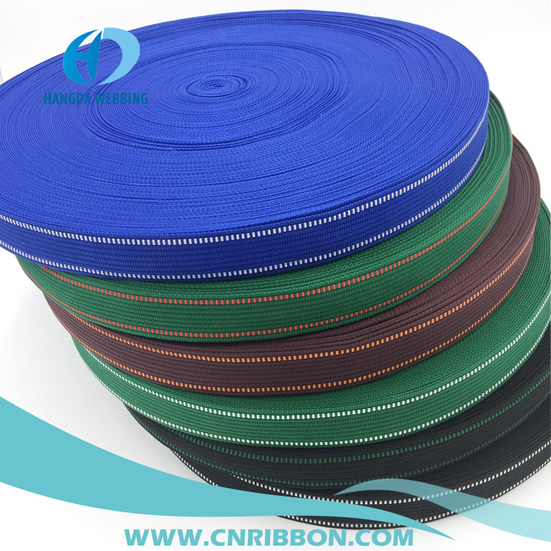 factory price wholesale woven 900D polypropylene webbing using for belt and bags