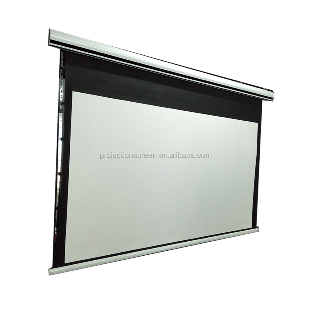 Best Price OEM fabric 120 projector screen electric
