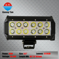 7 Inch 36W Car LED Work Light Bar 2520LM Spot Beam ALL Cars 4x4 Off Road Lamp Guangzhou