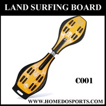Land surfing wave blance board