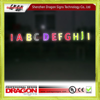 Wholesale China import illuminated letter signs for Dubai