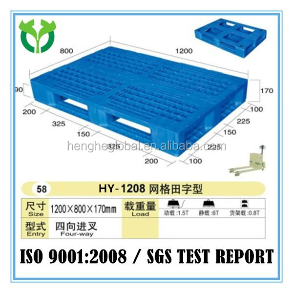 China Shipping Export Plastic Pallet Returns Pallet
