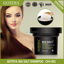 Private label best sea salt fresh anti-dandruff shampoo