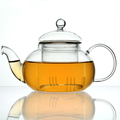 600ml Hand Made Borosilicate Pyrex Glass Tea Infuser with Handle