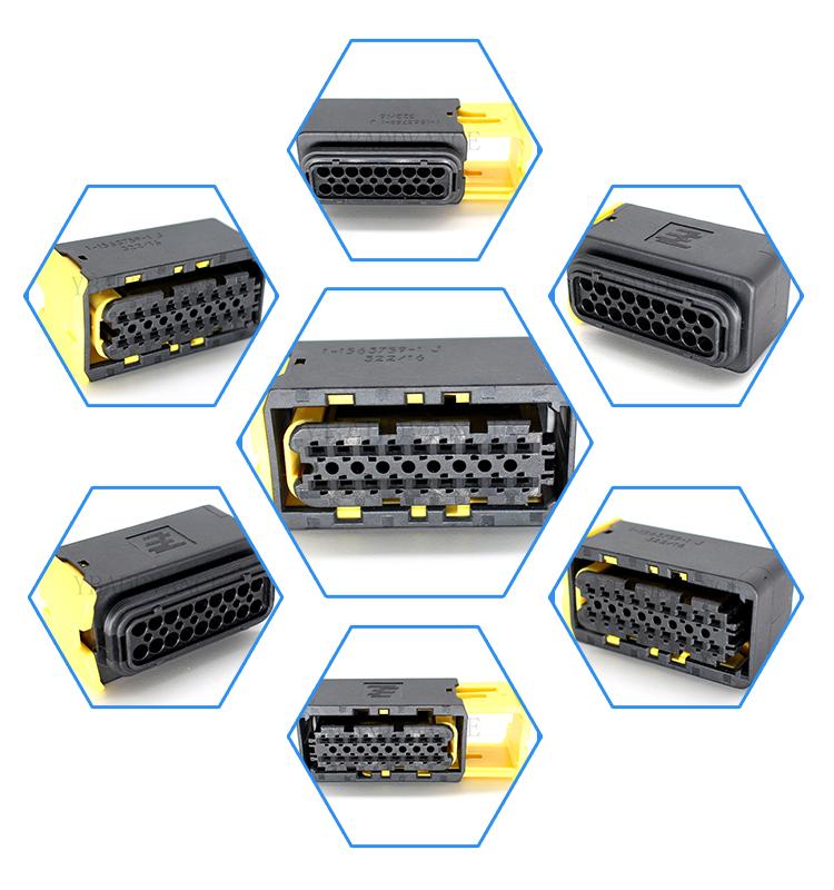 1-1563759-1 HDSCS tyco te connectivity automotive 18 pin female connector