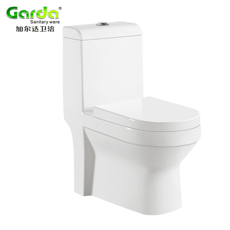 siphonic or washdown flushing floor mouted washroom wc toilet