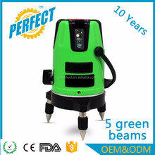 Electronic green self-leveling 4v1h cross line laser levels OEM prices