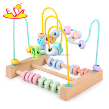 Child bead roller coaster naze puzzle toy for early educational kids W11B193