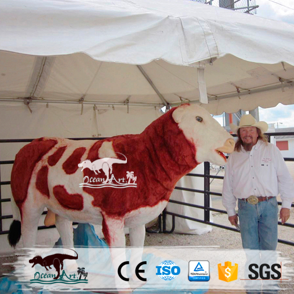 OA15011 Outdoor attractive mechanical bull for sale