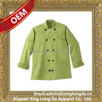 Super quality hot sell kitchen clothes chef jacket