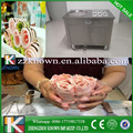 Thai high quality 1200w single pan with 6 topping ice cream roll machine