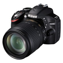 Nikon D3200 Black with 18-105mm VR Lens Kit