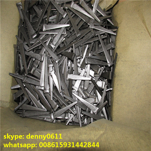 Manufacture Steel plate nail hard Steel cut masonry nails-----ligeda003