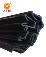 auto glass run channel rubber flocked weather strip