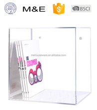 New acrylic wall showcase furniture, Wall Mounted Acrylic gift display box case, Lucite Decoration Storage