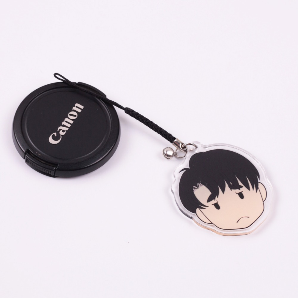 Digitally printed animation gift for custom phone charm