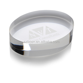 Beat The Competition With Fast Promoters Oval Acrylic Paperweight