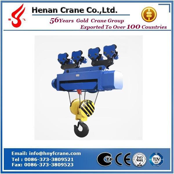 Top Quality and Widely Used Electric Wire Rope Hoist for Sale