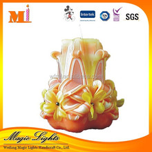 New Personalized Various Model Double Layer Popular Ear Wax Candles For Sale