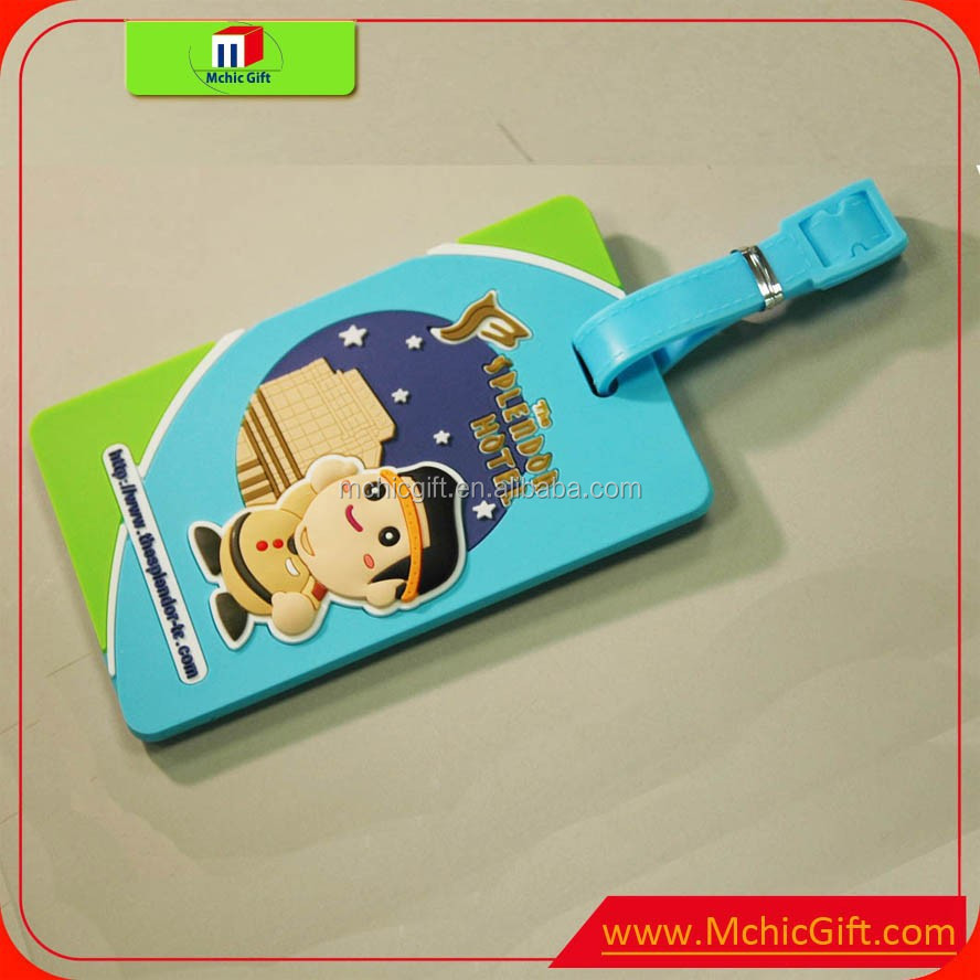 wholesale cheap /durable plastic luggage tags