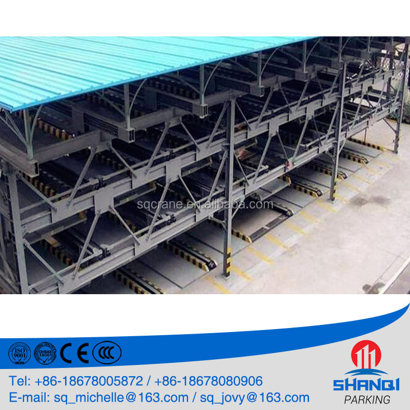 Shanqi Remote Control Space Saving Automated Car Parking Garage