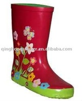 Hot Sale Cheap Kids/Children Rubber Rain Boots