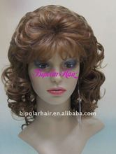 wholesale fashion style African synthetic lace front women's wig
