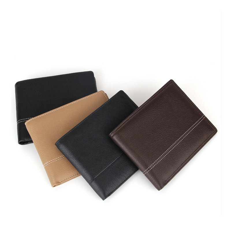 Custom Leather Men's Wallets Brand Wallet Guangzhou