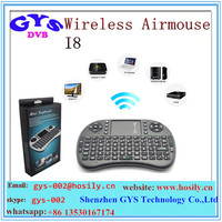 Wireless Mini Keyboard AIRMOUSE i8 2.4G for ANDROID tv BOX with touchpad Airmouse