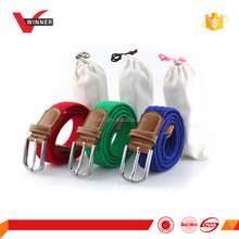 Stretch man Belt with cotton bag packing