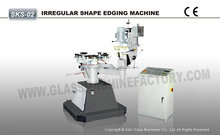 Manual Shape Glass Edging Machine Glass Grinder Machine
