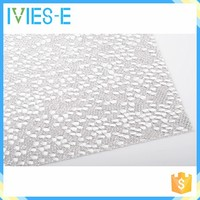 Good visual effect stable dimensions translucent polyresin modern office partition