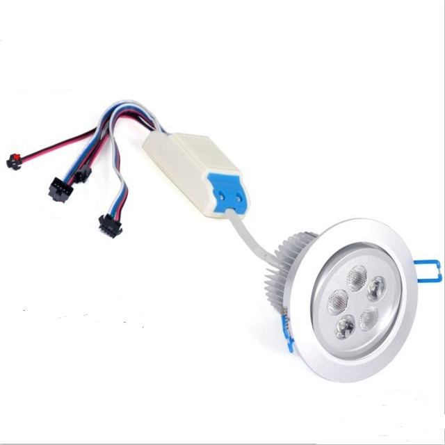 Taiwan Epistar <strong>Chips</strong> Led 12-24V 5X3W 3In1 Rgb+Warm White Recessed Led Ceiling Light