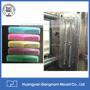 Factory directly sales cheap high quality plastic household hair comb plastic injection mould