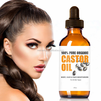 Highest Quality Cold Pressed Unrefined 100% Pure Black Castor Oil For Hair