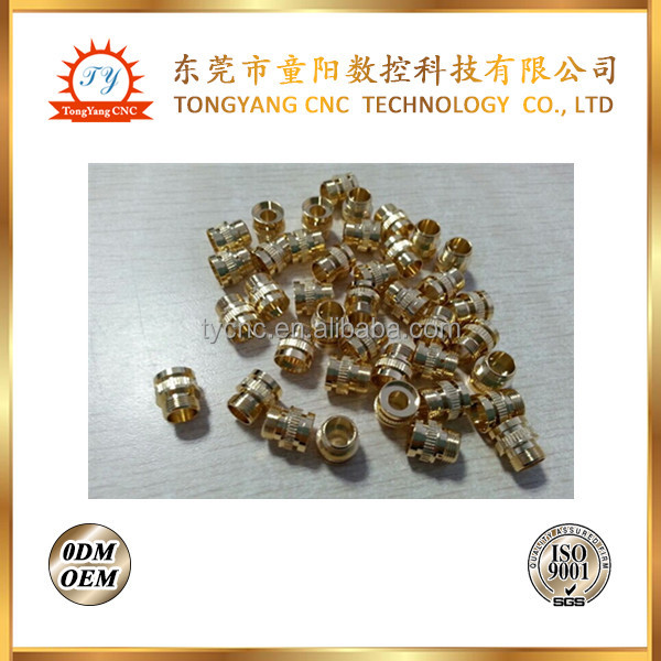 OEM CNC machining precision metal brass e-cig parts electronic cigarette accessories