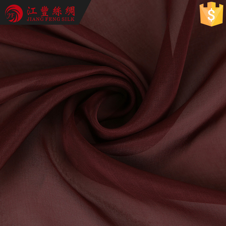 N29 French Evening Dress Silk Raw Material Chiffon Fabric