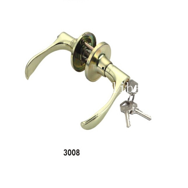Zinc alloy tubular lever handle interior door lock (804)