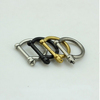 Fashion D shackle screw rings punk finger rings 18k gold rings for women and men stainless steel jewelry wholesale