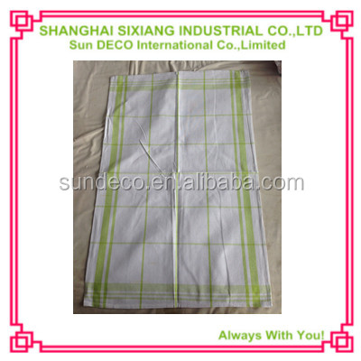 Simple design 100% cotton cleaning cloth