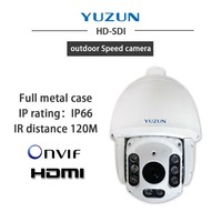 outdoor 1080p speed IR intelligent PTZ camera
