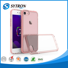 Hybrid Combo Mobile Phone Cover for iphone 7 clear plastic cell phone case