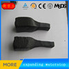 jingtong construction concrete joints black rubber bentonite swellable water stop