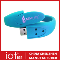 Silicone Wristband Usb Flash Drive 8GB Cheap