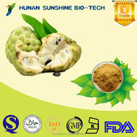 100% Natural 10:1 graviola soursop extract powder fresh fruit