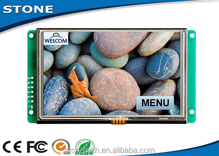 10.4 inch intelligent tft lcd Module touch screen with brand name cpu and backlight