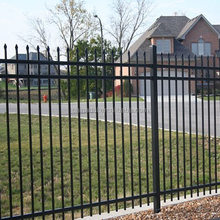 Hot Dipped Galvanised Tubular Steel Fence with high quality and lowest price