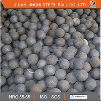 hot rolling steel ball for mining even hardness forged grinding ball