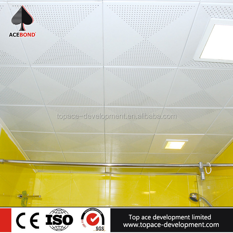 TOPACE Cost Price House Bathroom Roof Pop Modern Ceiling Design