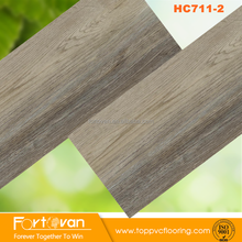 HC711-2 Fortovan PVC Flooring vinyl tile floor wood look vinyl plank China factory